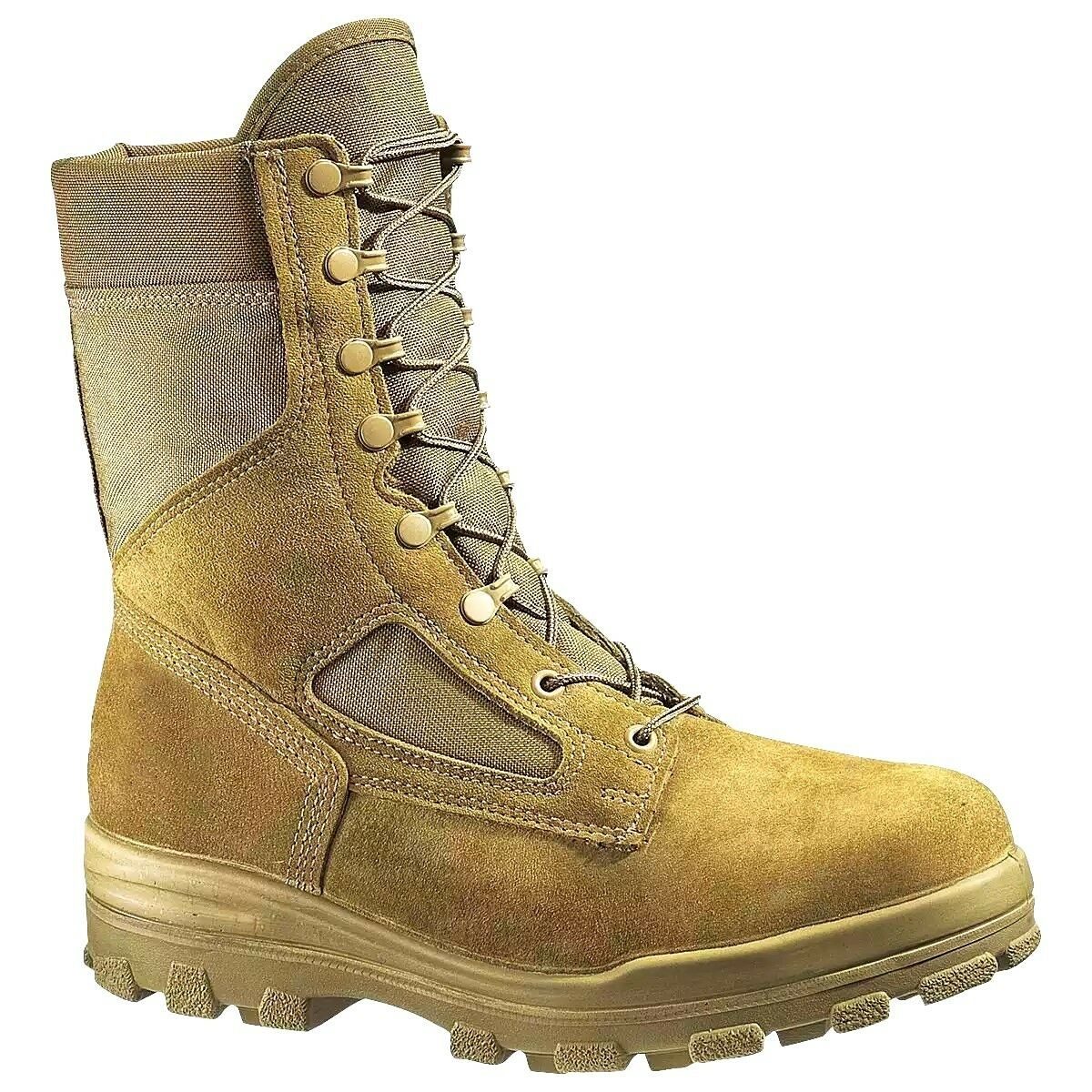 BATES 70701 US MARINES BOOTS ORIGINAL STEEL TOE MADE IN USA COYOTE Size 15 M