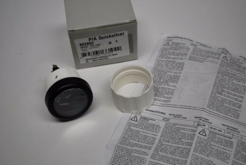 New Mercury /& Mercruiser Volt Gauge 79-882852 VDO Quicksilver Voltmeter SW1