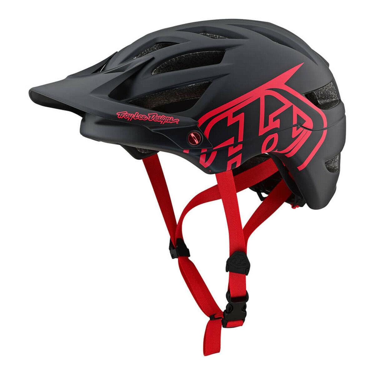 Troy Lee Designs A1 Drone Casque schwarz rot XL 2X
