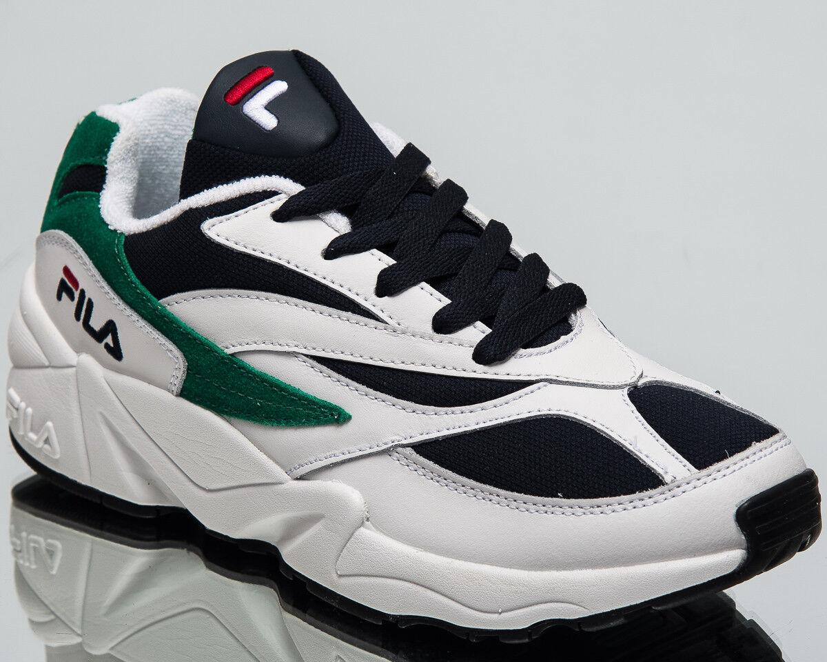 Fila Femme Venom Basse Mode De Vie Chaussures Blanc Bleu Marine Vert Nouveau Baskets 1010291-00Q