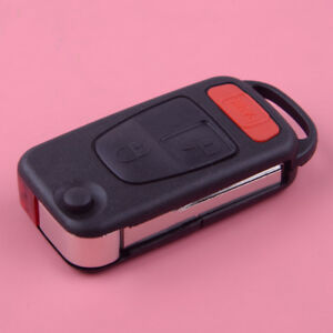 Details about Car Flip Folding Remote Key Fob Case Shell Replace For  Chrysler Crossfire 04-08