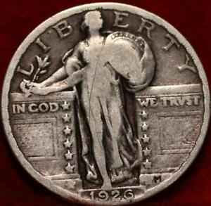 1926-Philadelphia-Mint-Silver-Standing-Liberty-Quarter