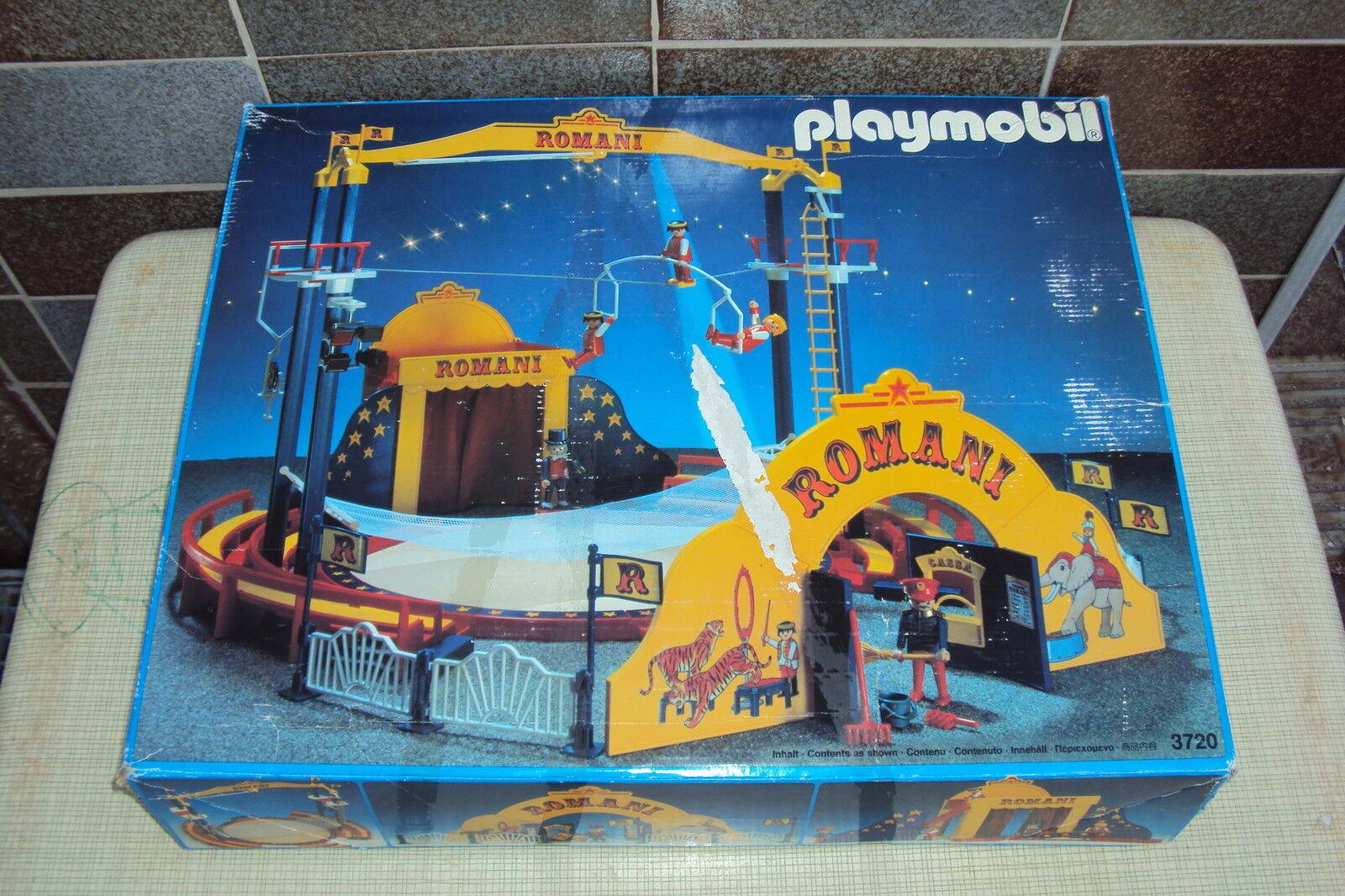 Playmobil 3720 ZIRKUS ROMANI + Elefant