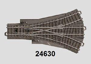 Maerklin-H0-24630-C-Gleis-Dreiwegweiche-NEU-OVP