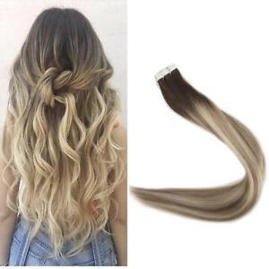 Haarverlangerung tape ombre