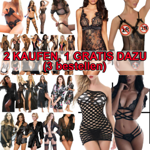 Erotik Frauen Damen Sexy Dessous Reizwäsche Nachtwäsche Nachtwäschen Schlafanzug