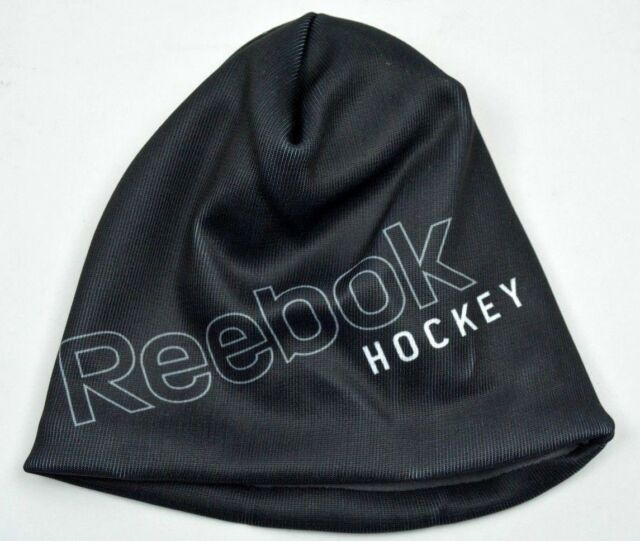 7c85776a8a4 Frequently bought together. Reebok Hockey Sublimated Logo Black Knit Fleece  Lined ...