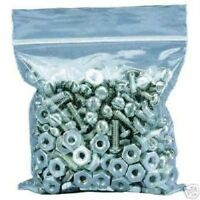 """CLEAR PLASTIC POLY GRIP SEAL BAGS RESEALABLE 1.5 x 2.5"""" 3.5 x 4.5"""" 9 x 12"""" ETC"""