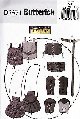 Butterick Sewing Pattern History Misses'/Men's Corsets Belt   Sml - XXxl B5371