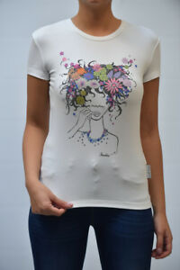 Frankie 07 Bianco Morello F234 shirt Donna s Mis Donna 6318 T Футболка Pp pxgfwqR65