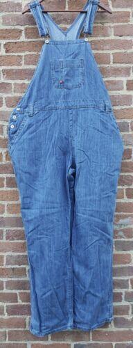 Women XL Dickies 42x32 Denim Bib Overalls Farmer H
