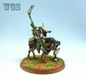 25mm-Warhammer-Fantasy-WGS-Painted-Nurgle-Chaos-Lord-on-Daemonic-Mount-WC037