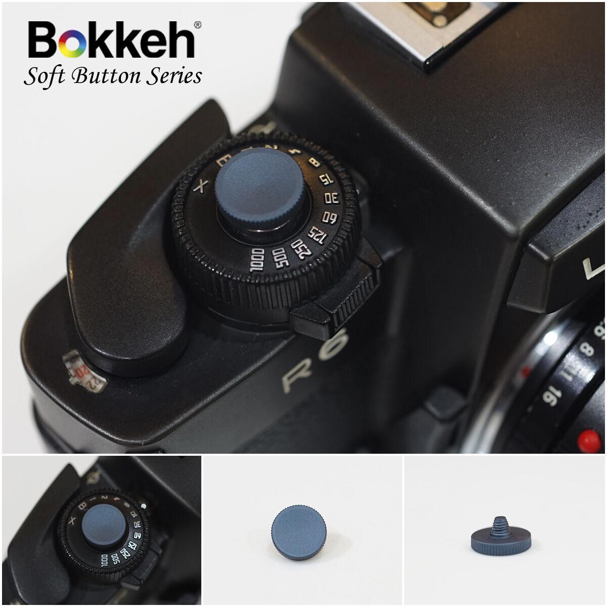 [ Deep Blue ] Small Shutter Soft Release Button Metal Leica M6 M3 RF SLR