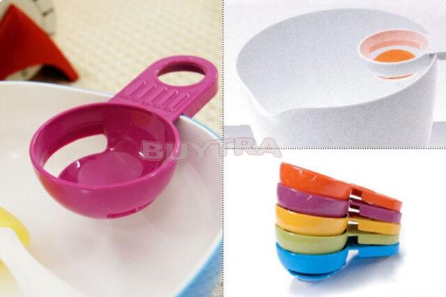 2PCS Feature Tide Kitchen Gadget Egg Yolk White Separator Divider Holder Sieve!!