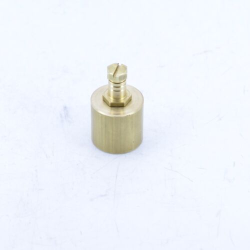 """35mm x 1//8/"""" REDUCING BRASS PIPE FITTINGS FOR GAS TEST NIPPLE INCLUDED"""