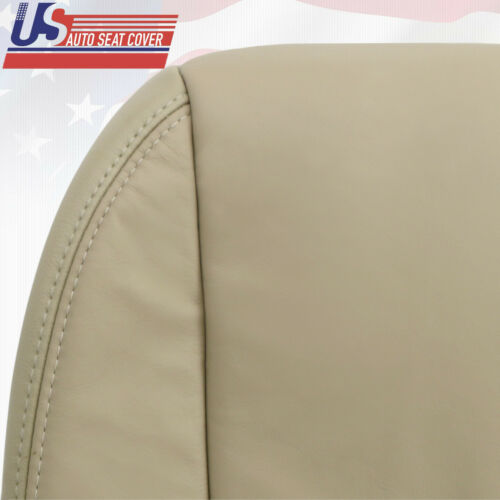 For 2007 2012 Acura MDX Passenger Bottom Replacement Leather Seat Cover TAN