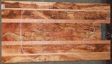 Spalted Curly Maple #5142 Exhibition Grade 5A Bass Guitar FULL Body Blank
