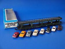MARKLIN H0 - 4074 - PASSENGER TRAIN CAR CARRIER / BOX - EXC