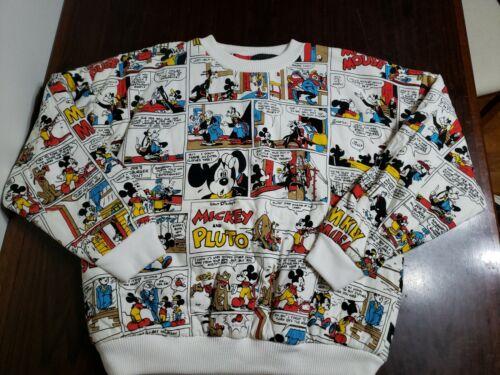 Vintage 1980's Walt Disney Mickey Mouse Comic Stri