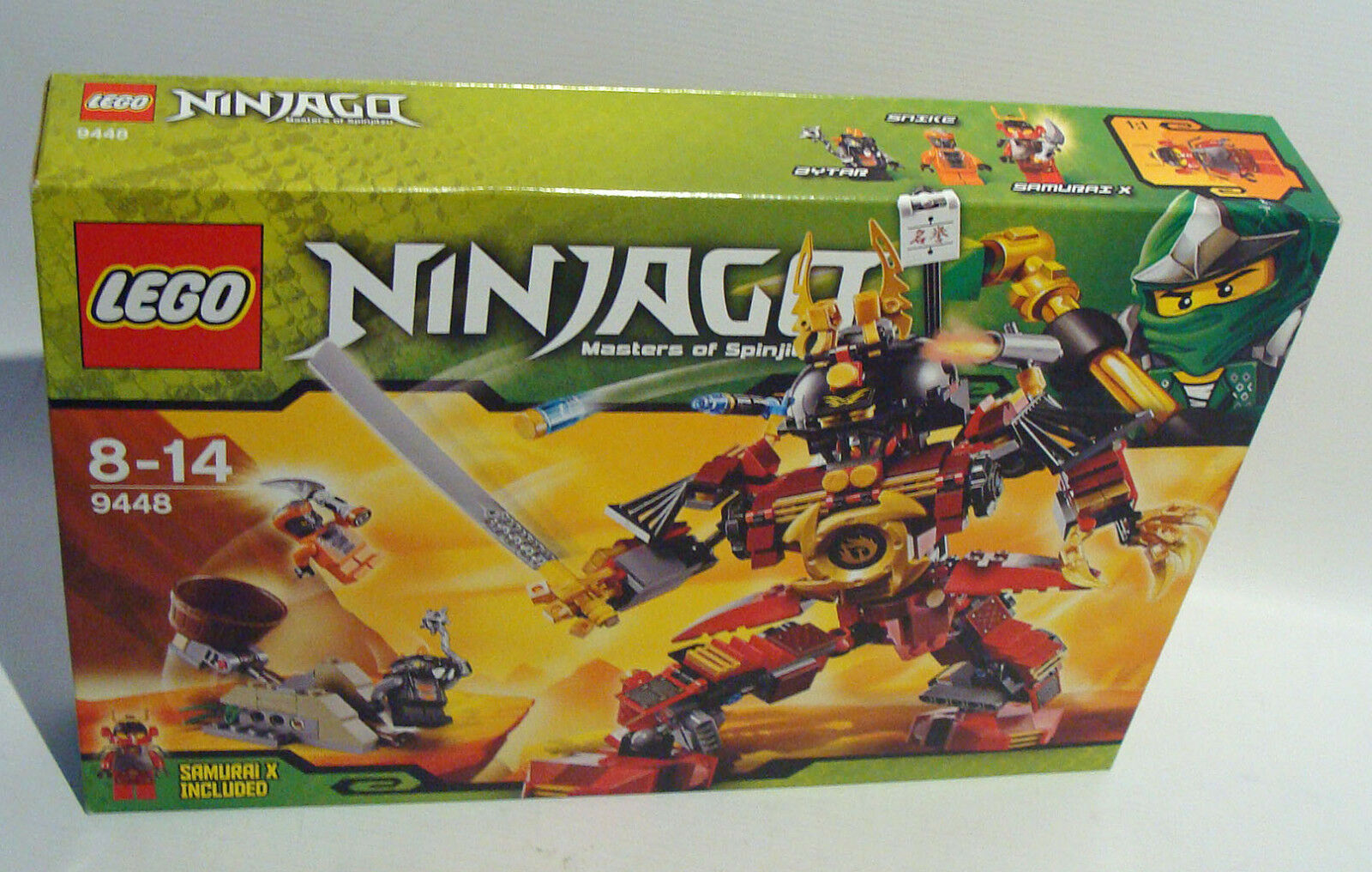 Lego® Ninjago 9448 - Samurai Roboter 452 Teile 8-14 Jahren - Neu