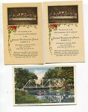 1920's and 2 Linen Summit New Jersey  NJ Postcards