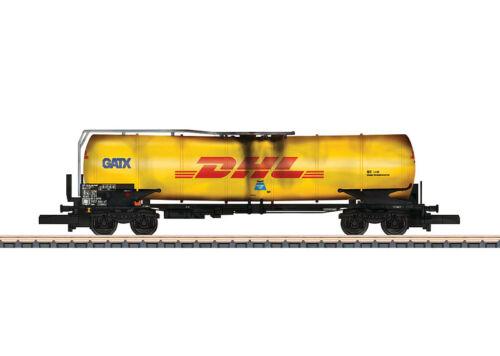 Märklin 82477 Spur Z Knickkesselwagen GATX//DHL gealtert 4-achsig #NEU in OVP#