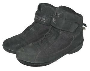"""niedrige """" PROBIKER """" Bikerstiefel / Schnür- Stiefel / Boots in schwarz ca. 45"""