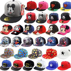 Baby-Toddler-Kids-Cartoon-Baseball-Summer-Cap-Hat-Boys-Girls-Snapbacks-Sun-Hats