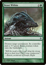 Magic the Gathering MTG 4x Beast Within x4 LP/NM- x 4 New Phyrexia Playset