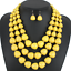 Women-Bohemian-Choker-Chunk-Crystal-Statement-Necklace-Wedding-Jewelry-Set thumbnail 141