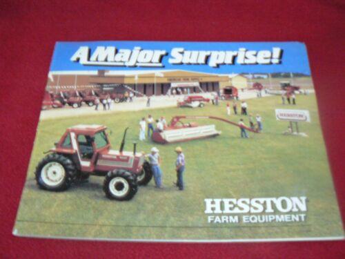 Hesston Equipment Buyers Guide for 1983