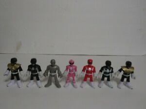 Imaginext-Power-Rangers-amp-Putty-Figures-Lot-7