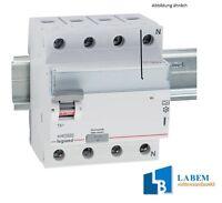 Legrand 411764 TX3 FI-Schutzschalter FI-Schalter 25A 4P 30mA A  4-polig TX3 Typ