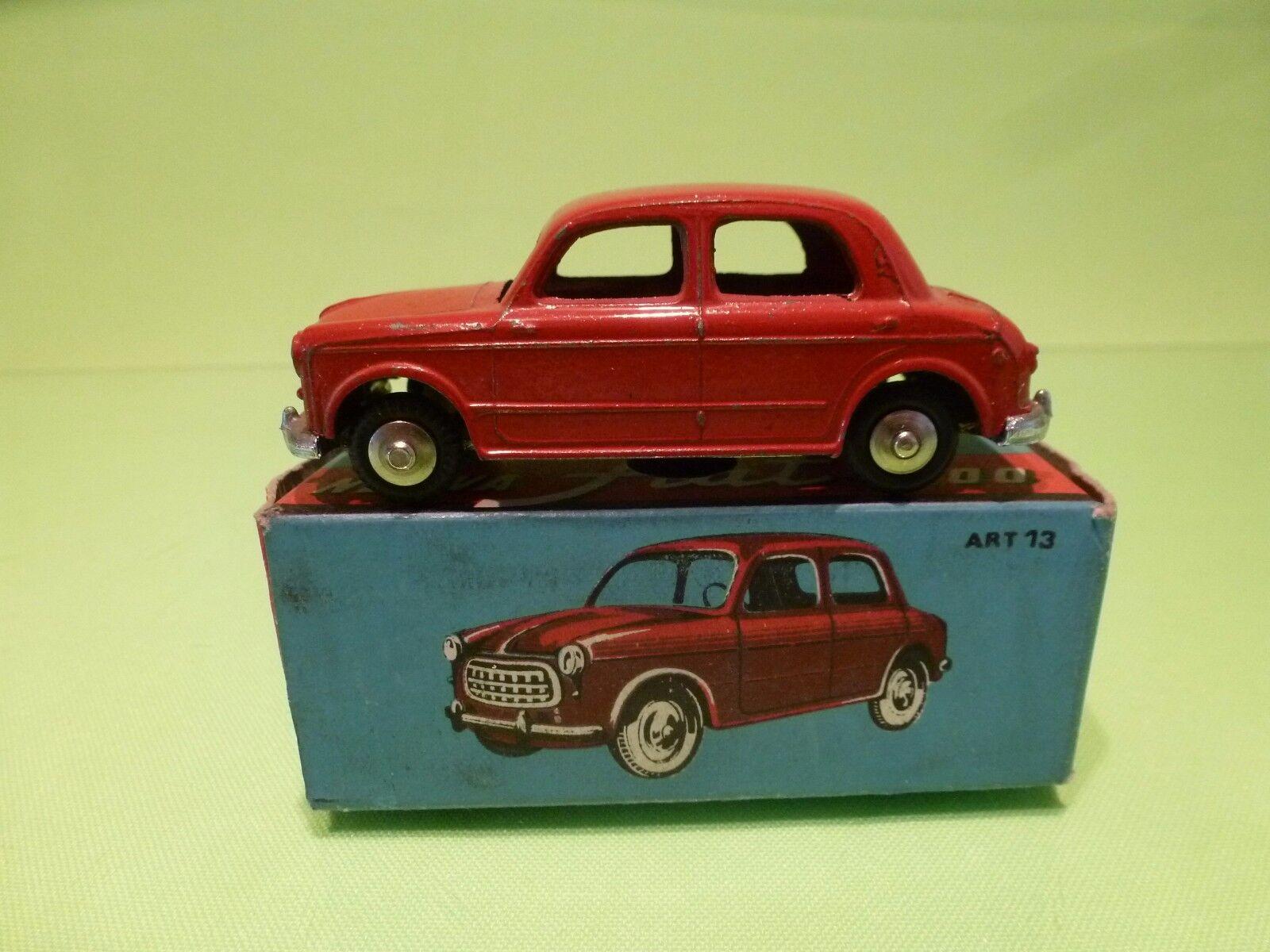 MERCURY 13 FIAT NUOVA 1100 -  rouge 1 43 RARE - EXCELLENT IN BOX