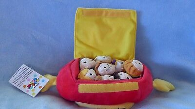 Brand New Disney Tsum Tsum Set Beauty The Beast With Footstool Carry Case Ebay
