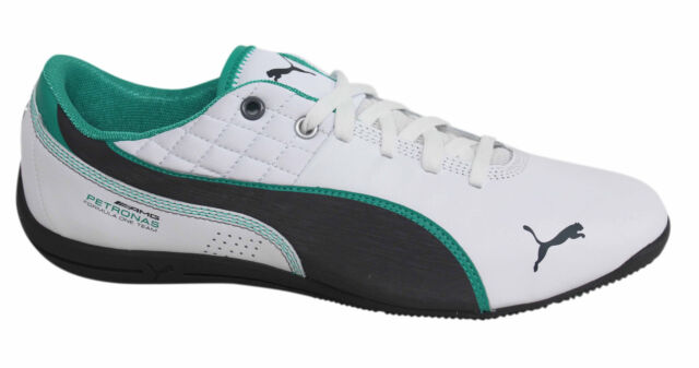 115cc07eaf0f Puma Drift Cat 6 MAMGP Lace Up White Synthetic Leather Trainers 305509 02 P0