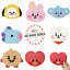 BT21-Baby-Silicone-Cup-Coaster-154x180mm-7types-Official-K-POP-Authentic-Goods miniature 1