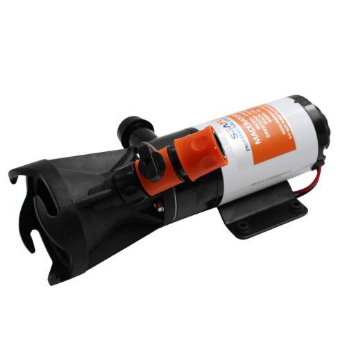"""Seaflo 24V Schnellspanner RV Mount Macerator Abwasserpumpe 45 LPM 3 /""""RV"""