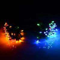 Waterproof 100-LED 70-Foot Solar Fairy Light in Multicolor