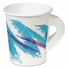 SOLO Cup Company 6 oz Paper Coffee Cups with Handles - SCC376HJZJ