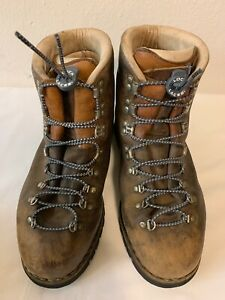 27e96dcc369 Vintage Merrell Millennium Hiking Boots Made In Italy Vibram Soles ...
