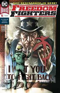 FREEDOM-FIGHTERS-1-2018-1ST-PRINT-THE-RESISTANCE-IS-HERE-DC-UNIVERSE-UNREAD-NM