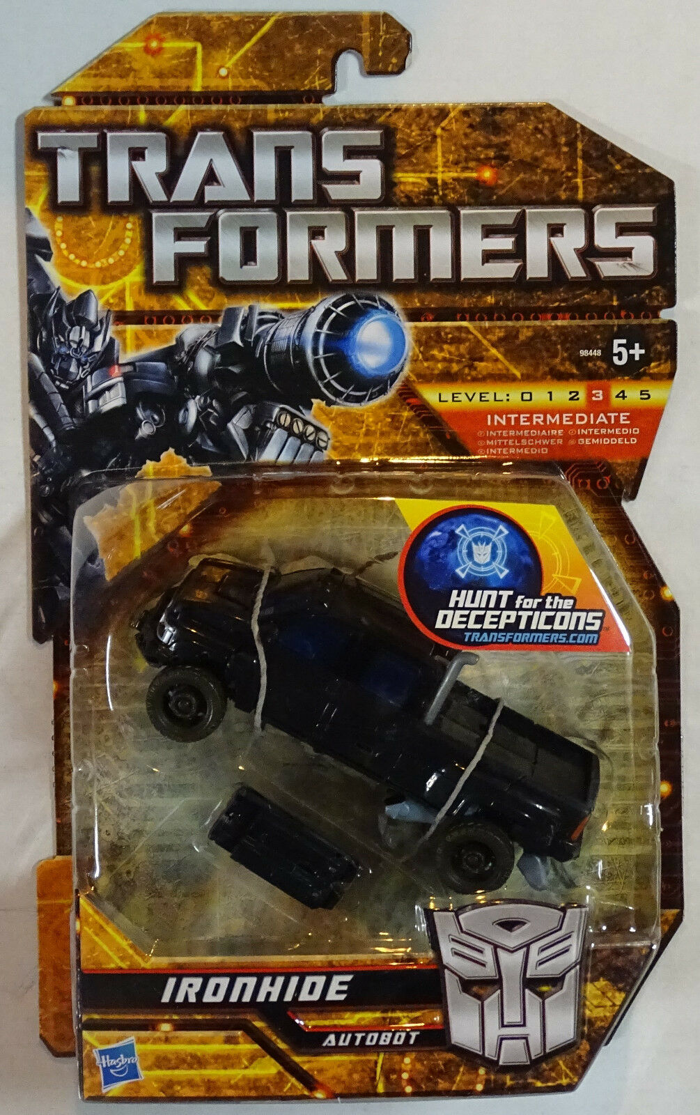 Hasbro ® 98448 Transformers Hunt of the Decepticons Deluxe  Ironhide