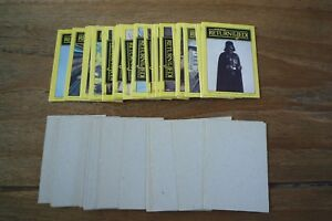 Monty - Star Wars Return Of The Jedi Cards 1983 - VGC! - Pick The Cards You Need