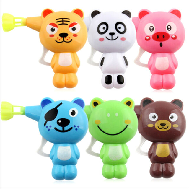 Soap Water Bubble Gun Cartoon Bubble Blower Machine Toy For Kids Gift Toys WA