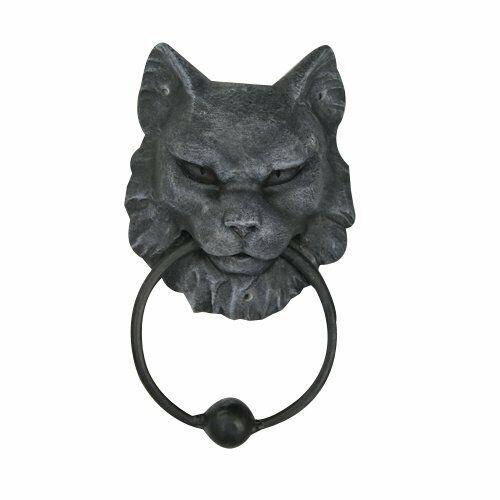 Cat Gargoyle Door Knocker