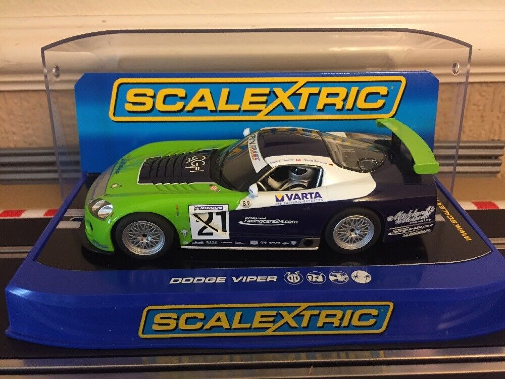 Scalextric Digital Dodge Viper Competition Coupe G.S Racing No21 C3018 MIB