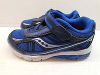 Saucony Baby Ride Baby Boy's Royal/Navy Sneaker 8W (7607)