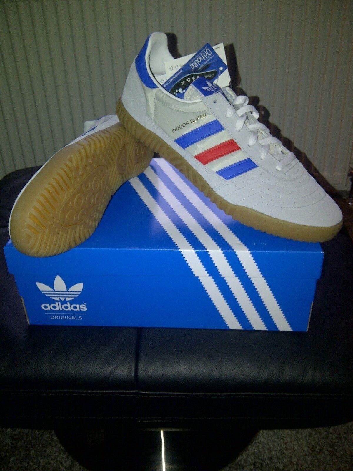 Terrazas.. Adidas  Interior Super  Originals.. Retro Entrenadores Reino Unido 40 2 3 euros