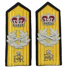 Epaulettes Admiral of  Fleet Shoulder Boards Elastic, Strap & Press Stud R1409